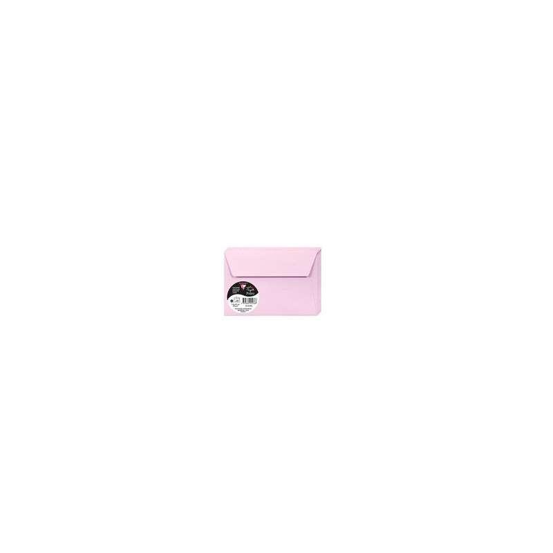 ENVELOPPE ROSE DRAGEE 114*162 ADHESIVE 120G PAQUET 20