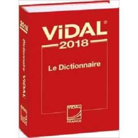 DICTIONNAIRE VIDAL 2018
