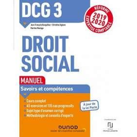 DCG 3 - DROIT SOCIAL MANUEL