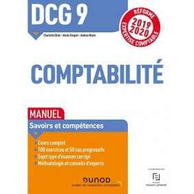 DCG 9, COMPTABILITE : MANUEL, SAVOIRS ET COMPETENCES