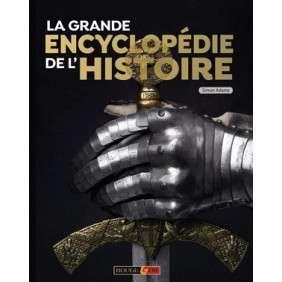 LA GRANDE ENCYCLOPEDIE DE L'HISTOIRE ROUGE ET OR