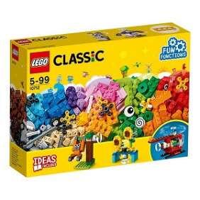 BOITE BRIQUES+ ENEGRENAGES LEGO