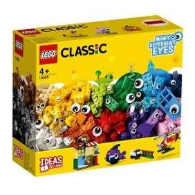 BOITE DE BRIQUES ET D'YEUX LEGO