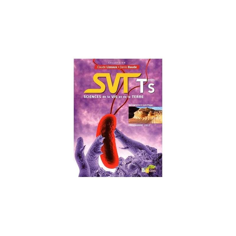 SVT TERM S SPECIFIQUE MANUEL GF 2012