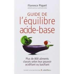 GUIDE DE L'EQUILIBRE ACIDE-BASE