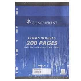 COPIE DOUBLE A/P A4 70G 200PAGES PAQUET 50 SEYES