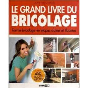 Le Grand Livre Du Bricolage - Tout Le Bricolage En Etapes Claires Et Illustrees