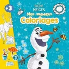 OLAF FROZEN, JE DECORE ET JE COLORIE MON HISTOIRE