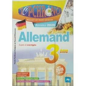 TOP CHRONO ALLEMAND 3E ED 2020
