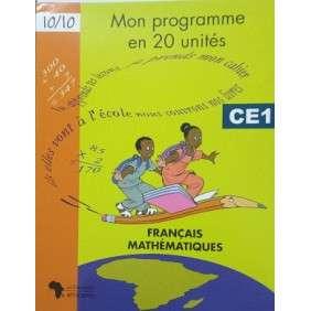 MON PROGRAMME EN 20 UNITES CE1 NVLLE EDITION