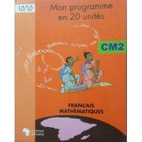 MON PROGRAMME EN 20 UNITES CM2 FRANCAIS MATHS N ED