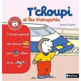 T'CHOUPI ET LES TRANSPORTS N°10