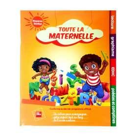 TOUTE LA MATERNELLE M.S -LECTURE GRAPHISME COMPTINE POESIE EDHC