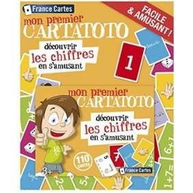 CARTATOTO CHIFFRES BLISTER 4 ANS