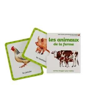 LES ANIMAUX DE LA FERME CARTES IMAGES MOUSSE