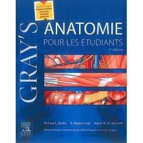GRAY'S ANATOMIE POUR LES ETUDIANTS 3E ED