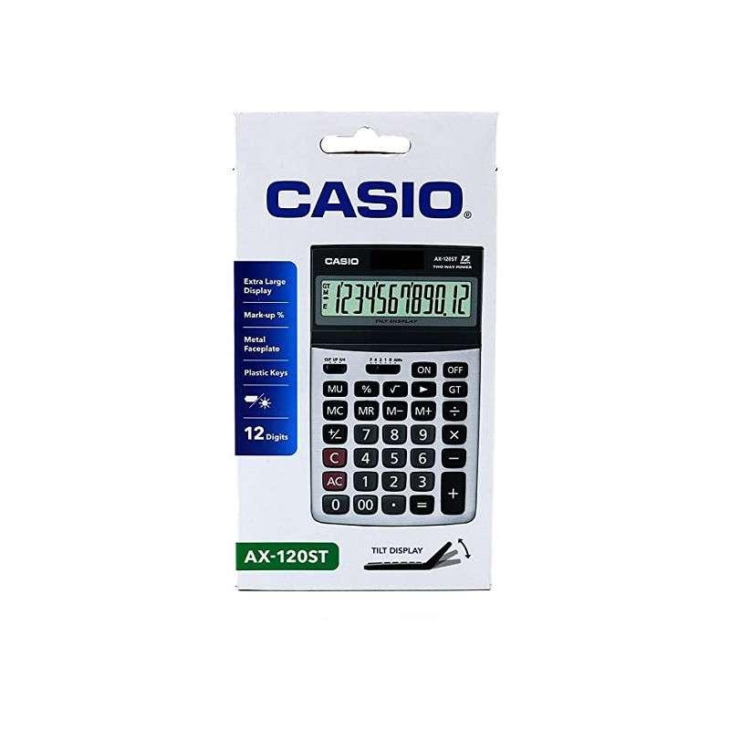 CALCULATRICE CASIO AX-120ST