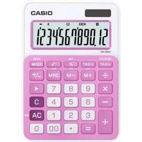 CALCULATRICE CASIO ROSE CLAIR - MS-20NC-PK