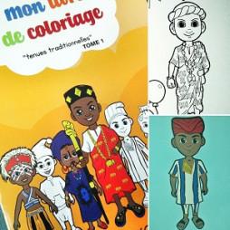 MON LIVRE DE COLORIAGE - TENUES TRADITIONNELLES TOME 1