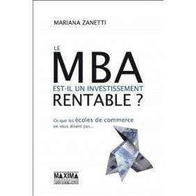 LE MBA EST-IL UN INVESTISSEMENT RENTABLE ?