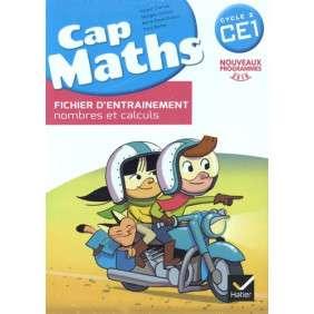 CAP MATHS CE1 ED. 2016 - FICHIER D'ENTRAINEMENT + CAHIER DE GEOMETRIE + DICO MATHS