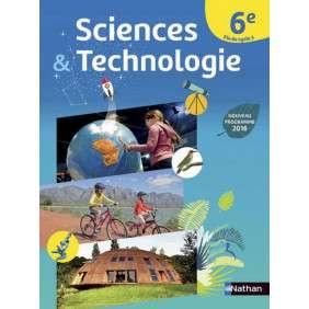 SCIENCES & TECHNO 6E 2016 - MANUEL ELEVE 2016 GRAND FORMAT