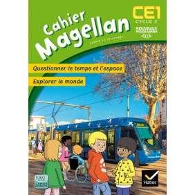 MAGELLAN QUESTIONNER LE TEMPS ET L'ESPACE CE1 ED. 2016 - CAHIER DE L'ELEVE