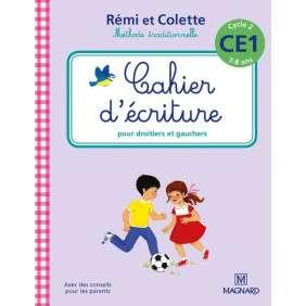 2016 CAHIER D'ECRITURE REMI ET COLETTE CE1