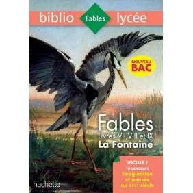 BIBLIOLYCEE FABLES DE LA FONTAINE BAC 2020 1ERES TECHNOS - PARCOURS IMAGINATION ET PENSEE - LIVRES D
