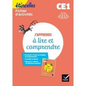 ETINCELLES - FRANCAIS CE1 ED. 2019 - J'APPRENDS A LIRE ET COMPRENDRE - FICHIER D'ACTIVITES