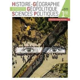 HISTOIRE GEOGRAPHIE GEOPOLITIQUE SCIENCES POLITIQUES 1RE - MANUEL ELEVE 2019