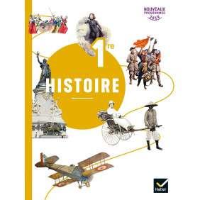 HISTOIRE 1RE - ED. 2019 - LIVRE DE L'ELEVE
