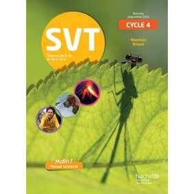 SVT CYCLE 4 / 5E, 4E, 3E - LIVRE ELEVE - ED. 2017 - SCIENCES DE LA VIE ET DE LA TERRE