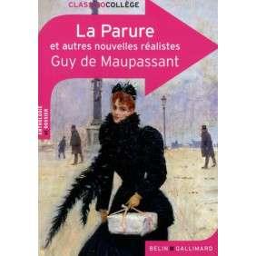 LA PARURE ET AUTRES NOUVELLES REALISTES DE GUY DE MAUPASSANT