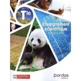 ENSEIGNEMENT SCIENTIFIQUE TLE 2020 MANUEL