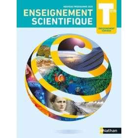ENSEIGNEMENT SCIENTIFIQUE TERM - ENSEIGNEMENT COMMUN - MANUEL 2020