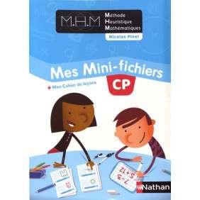 METHODE HEURISTIQUE DE MATHEMATIQUES - MES MINI-FICHIERS + MON CAHIER DE LECONS CP