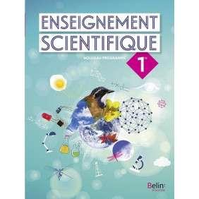 ENSEIGNEMENT SCIENTIFIQUE 1RE , MANUEL ELEVE 2019