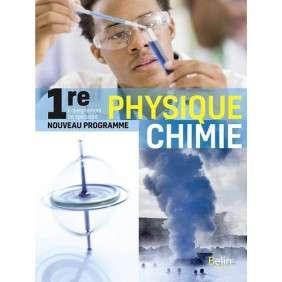 PHYSIQUE CHIMIE 1RE , MANUEL ELEVE 2019