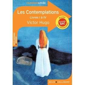 LES CONTEMPLATIONS (LIVRES I A IV) , VICTOR HUGO