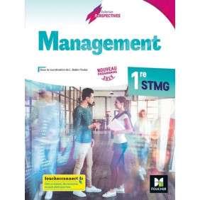 PERSPECTIVES , MANAGEMENT , 1RE STMG , ED. 2019 , MANUEL ELEVE
