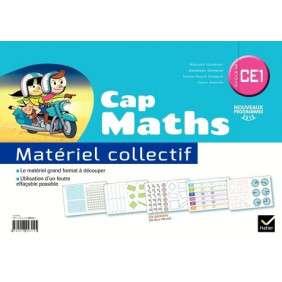 CAP MATHS CE1 ED. 2016 , MATERIEL COLLECTIF
