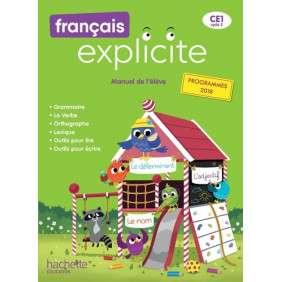FRANCAIS EXPLICITE CE1 , LIVRE DE L'ELEVE , ED. 2019