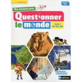 MES MISSIONS POUR QUESTIONNER LE MONDE , CYCLE 2 PANORAMAS MANUEL