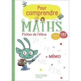 POUR COMPRENDRE LES MATHS CE2 , FICHIER ELEVE + MEMO , ED. 2020