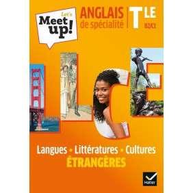 LET'S MEET UP ! LLCE ANGLAIS TLE , ED. 2020 , LIVRE ELEVE