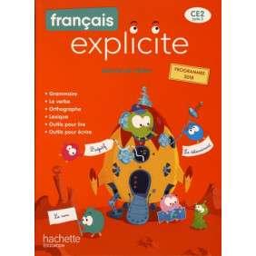 FRANCAIS EXPLICITE CE2 , LIVRE DE L'ELEVE , ED. 2020