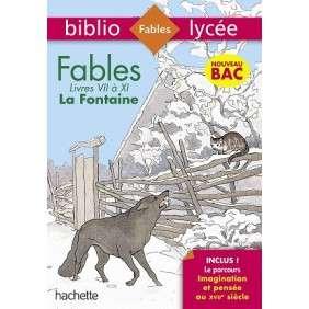 BIBLIOLYCEE FABLES DE LA FONTAINE BAC 2020