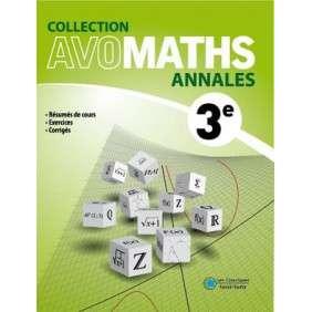 AVOMATHS ANNALES 3 EME