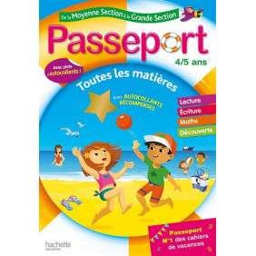 PASSEPORT CAHIER DE VACANCES 2020 - DE LA MS A LA GS - 4/5 ANS